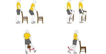 ejercicios musculares covid